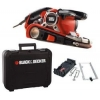 Black & Decker KA89EK Ponceuse a bande action cyclonique 75 x 533 mm 750 W