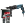 Makita HR 2470 perceuse FTX marteau rotatif avec boutier pour perceuse