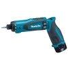 Makita DF010DSE Visseuse dévisseuse sans fil 2 batteries Li-Ion 7,2 V incluses