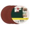 Bosch – 2607019497 – Lot de feuilles abrasives – 25 pièces – Pour ponceuse excentrique – Grain 80-140 / 125 mm (Import Allemagne)