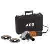 AEG – WS 6-125 Orange – Meuleuse Secteur – 700 W