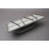 Petit rabot plâtrier – Poignée d'angle plâtrier – Poignée 6 lames acier – 270x90mm