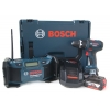 Bosch Outillage -pack 2 Machines: Perceuse Visseuse Gsr 18 V-li + Radio De Chantier Gml Soundboxx- 0601429102