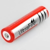 4xUltraFire 18650 3000mAh 3.7V batterie rechargeable rouge