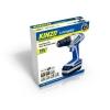 Kinzo – 71784 – Perceuse visseuse sans fil métal/bois 230 V – Batterie 18 V