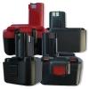 Batterie pour Metabo BST12 Impuls, 3000mAh / 36Wh, 12V, NiMH, noir