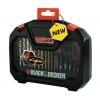 Black & Decker – A7183 – Mallette de forets et embouts pour tournevis – Titane – 30 pièces (Import Grande Bretagne)