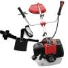 Rotfuchs® 2,2kW 3CV Débroussailleuse thermique et essence Faucheuse 52 cc Rouge