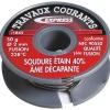Express – Soudure étain assemblage métaux / Ame décapante – 50 gr ø 2 mm