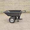 Remorque / Brouette Basculante 200 kg pourtracteurtondeuse, autoportée, quad ( Livraison gratuite )