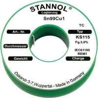 Étain à souder KS115 3,0% 1,5MM 250G Stannol 573257-Étain de soudure