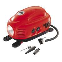 Black & Decker ASI200 Compresseur 8,4 bars / 120 PSI