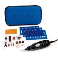 Dremel 300 Series / F0130300NK Outil multifonctions Coffret 25 accessoires Fraises / Patrons / Sacoche de transport (Import Allemagne)