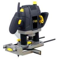 Fartools ER 1300 Défonceuse Electrique 1300 W Blocage d'arbre Pinces admissibles 8/12 mm Variateur de vitesse