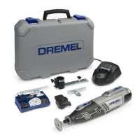 Dremel 8200 Outil rotatif multifonctions + Housse 35 Accessoires 2 batteries Li-Ion
