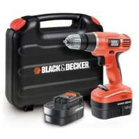 Black & Decker EPC12CABK Perceuse sans fil 12 volts