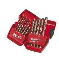 Milwaukee 4932352374 SDS-Plus Coffret de 19 forets en acier rapide HSS-G