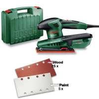 BOSCH PSS 200 AC – Ponceuse vibrante – Une qualité de finition maximale sur les grandes surfaces