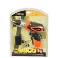 Lifetime Tools 77361 Perceuse sans fil rechargeable 230 V Batterie 7,2 V