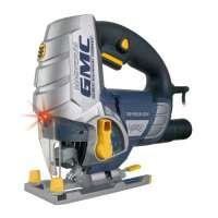GMC 920308 Scie sauteuse Laser en fibres de carbone/magnésium 750 W LJS750CF