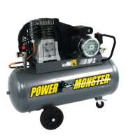 Power Monster 425193 Compresseur 100 L 3 hp mono