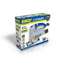 Kinzo 71798 Scie sauteuse bois/métaux 230-240V 50 Hz 650 W