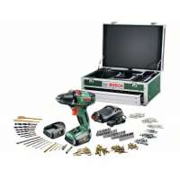 Bosch – Toolbox – Perceuse visseuse sans fil – PSR 14,4 LI-2 – 14,4V – 2 vitesses – Lithium-Ion (2 batteries) – 0603973408