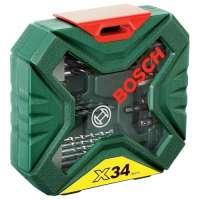 Bosch – 2607010608 – Coffret de mèches et forets X-Line – 34 pièces (Import Allemagne)