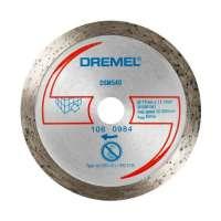 Dremel S540 Disque diamant pour carrelage de sol pour DSM20 77 mm